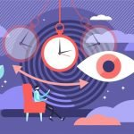Illustration-Of--Psychology-Swinging-timepiece-and-eyes