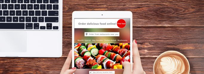 Ipad-showing-food-order-app